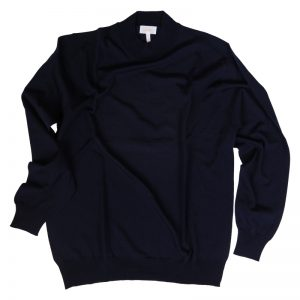 Brioni Cashmere/Silk Sweater Mock Neck