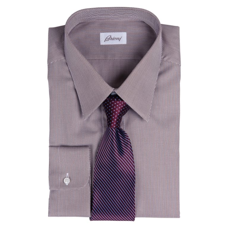 Brioni Reg Cuff with Vitaliano Tie