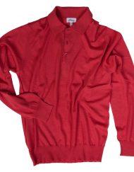 Brioni Cashmere Sweater Polo
