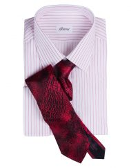 Brioni French Cuff with Italo Feretti Tie