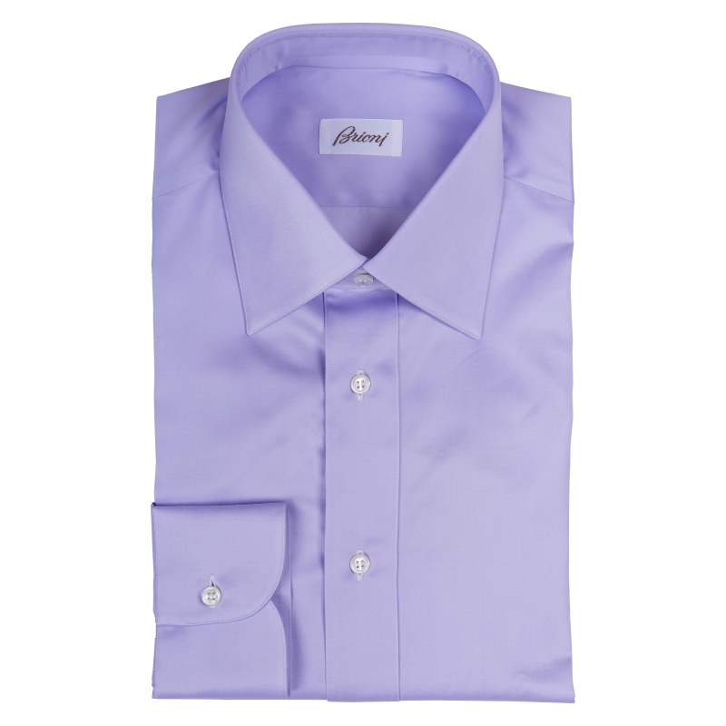 Brioni Reg Cuff Purple